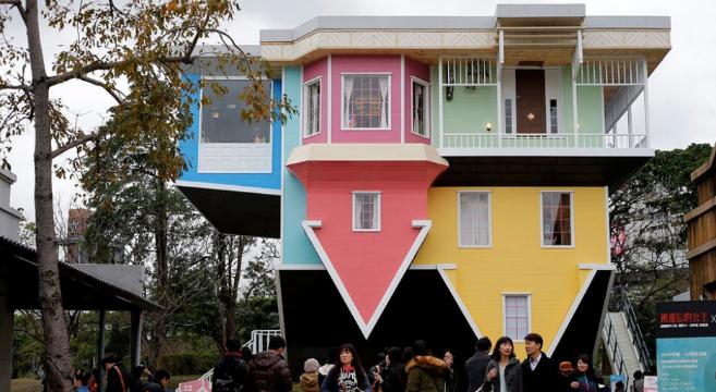 Ecco quali sono le cinque case pi strane del mondo for Case stravaganti